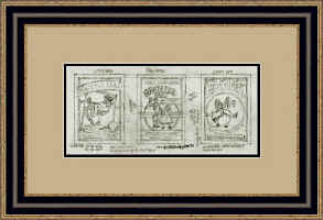 Grateful Dead triple drawing framed.jpg (125094 bytes)